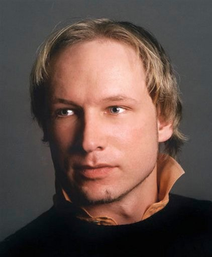 This is an undated image obtained from the Twitter page of Anders Behring Breivik, 32, who was arrested Friday July 22, 2011 in connection to the twin attacks on a youth camp and a government building in Oslo, Norway. Breivik is a suspect in both the shoo
