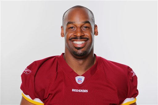 This is a 2010 file photo of Donovan McNabb of the Washington Redskins NFL football team.