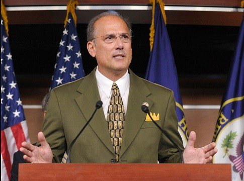 Rep. Thomas Marino, R-Pa., speaks during a news conference on Capitol Hill in Washington.