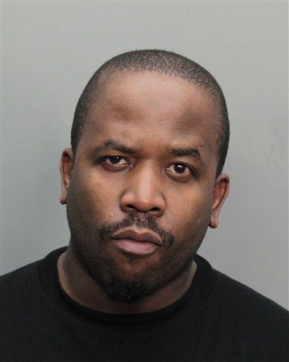 This image provided by the Miami-Dade County Corrections and Rehabilitation Department shows Antwan Patton, also known as Big Boi of the rap group Outkast, arrested on alleged drug possession charges, Sunday, Aug. 7, 2011.