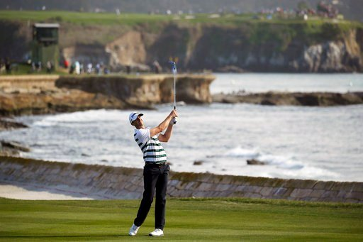 Prestigious Pebble Beach will host its first U.S. Women's Open in 2023 and the U.S. Open in 2027. The USGA announced the two tournaments slated for Pebble Beach on Tuesday, Oct. 24, 2017. (AP Photo/Eric Risberg, File)