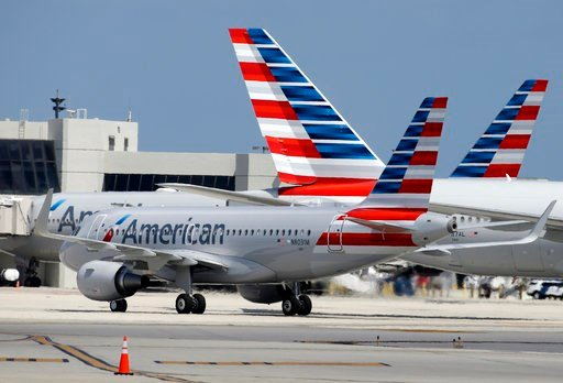 American said Wednesday, Oct. 25, 2017, it's disappointed by the announcement and will invite the civil rights group to meet and talk about the airline. (AP Photo/Lynne Sladky, File)