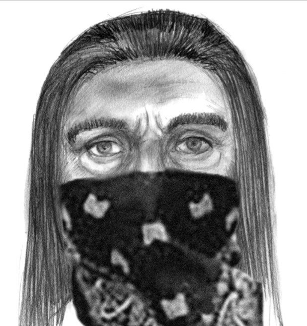 This sketch released by the FBI shows one of two suspects in the mysterious case.