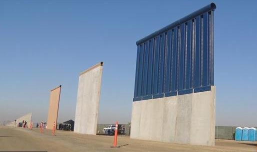 Border agents reveal all 8 prototypes in Otay Mesa.