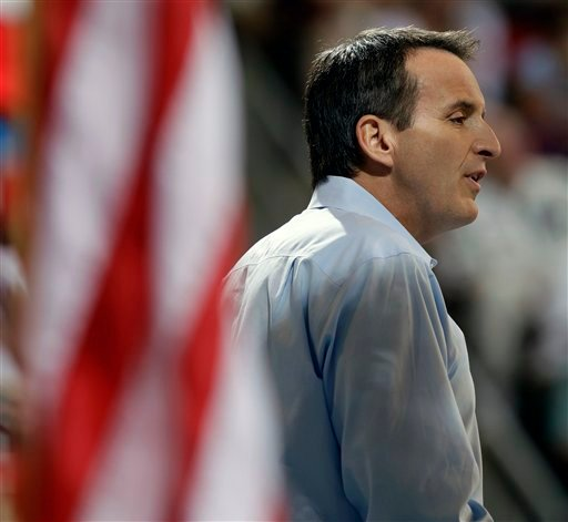 Republican Presidential Candidate Former Minnesota Governor Tim Pawlenty speaks during the Iowa Republican Party's Straw Poll, Saturday, Aug. 13, 2011, in Ames, Iowa. (AP Photo/Charlie Neibergall)