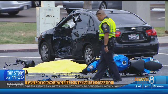 Motorcyclist killed in Linda Vista crash
