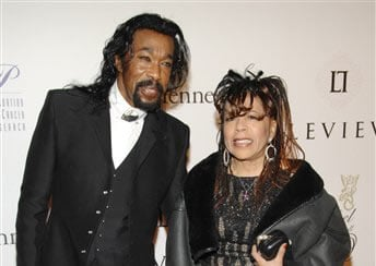 FILE - In this Oct. 29, 2007 file photo, Singers Nick Ashford and Valerie Simpson attend the 2007 G&P Foundation 10th Annual Angel Ball in New York.