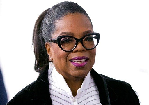 Oprah Winfrey arrives for the David Foster Foundation 30th Anniversary Miracle Gala and Concert, in Vancouver, British Columbia.