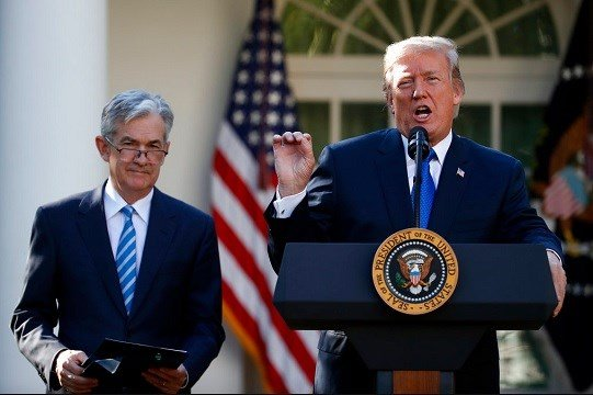 President Donald Trump announces Federal Reserve board member Jerome Powell as his nominee for the next chair of the Federal Reserve.
