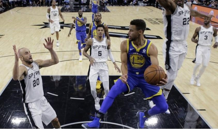 Golden State Warriors superstar Stephen Curry.