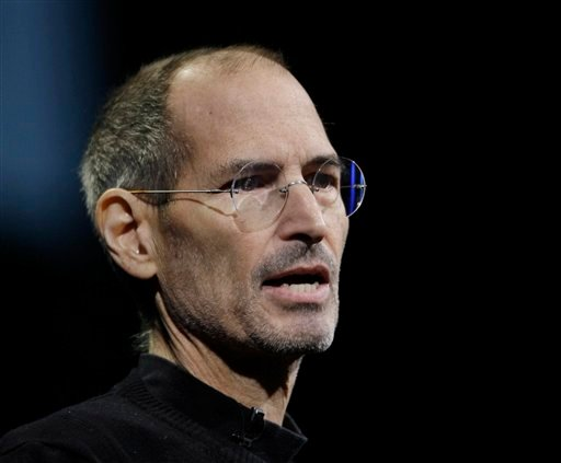 FILE - In this June 6, 2011 file photo, Apple CEO Steve Jobs gives the keynote address to the Apple Worldwide Developers Conference in San Francisco. Apple Inc. on Wednesday, Aug. 24, 2011 said Jobs is resigning as CEO, effective immediately.