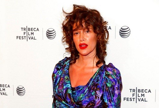 "Paz de la Huerta attends the Tribeca Film Festival world premiere of ""Bare"" at the SVA Theatre in New York."