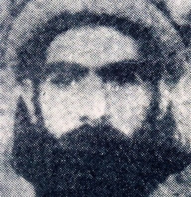 This undated file photo reportedly shows the Taliban supreme leader Mullah Omar. Infuriated that Washington met secretly at least three times with a personal emissary of Taliban leader Mullah Mohammed Omar (AP).