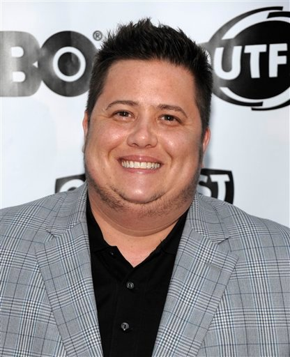 "FILE - In this July 7, 2011 file photo, activist Chaz Bono arrives at the premiere of the feature film ""Gun Hill Road"" in Los Angeles."