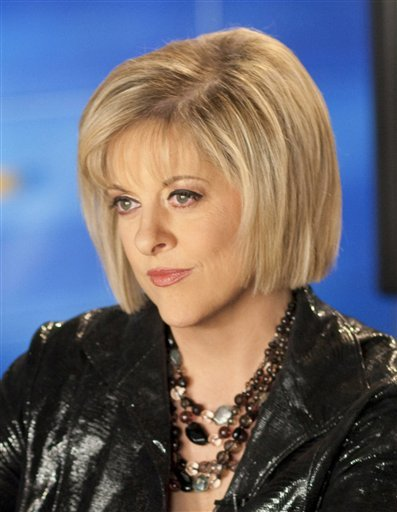 """FILE - This May 21, 2009 photo released by CNN, shows host Nancy Grace, in Atlanta. Grace will be one of eleven celebrities competing on the upcoming season of """"Dancing with the Stars."""" (AP Photo/CNN, Mark Hill)"""