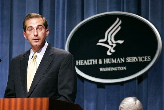 In this June 8, 2006 file photo, then Deputy Health and Human Services Secretary Alex Azar.