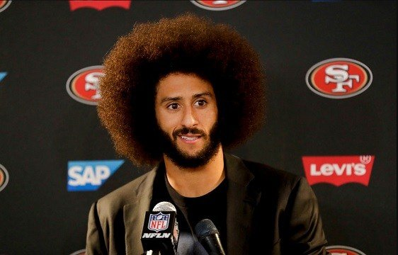 In this Dec. 24, 2016, file photo San Francisco 49ers quarterback Colin Kaepernick.