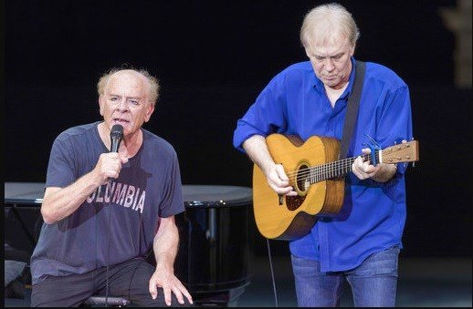 Art Garfunkel Regensburg Castle Festival, Germany - 21 Jul 2017.