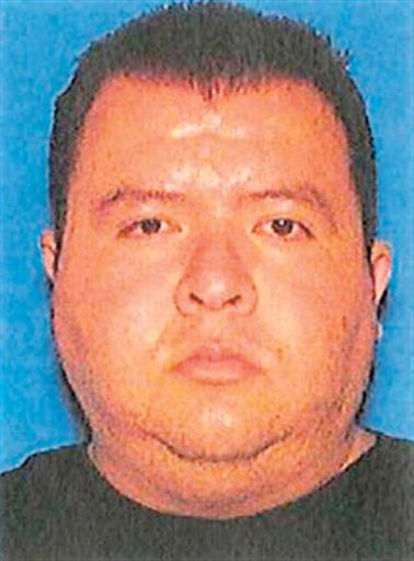 Eduardo Sencion, 32, seen in a photo provided by the Carson City Sheriff's Office, is the suspect in a shooting rampage at an IHOP restaurant in Carson City, Nev., on Tuesday morning, Sept. 6, 2011. (AP Photo/Carson City Sheriff's Office)