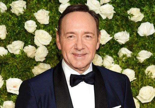 Kevin Spacey arrives at the 71st annual Tony Awards at Radio City Music Hall in New York.