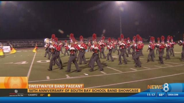 Sweetwater Band Pageant: 50th anniversary of South Bay school band showcase
