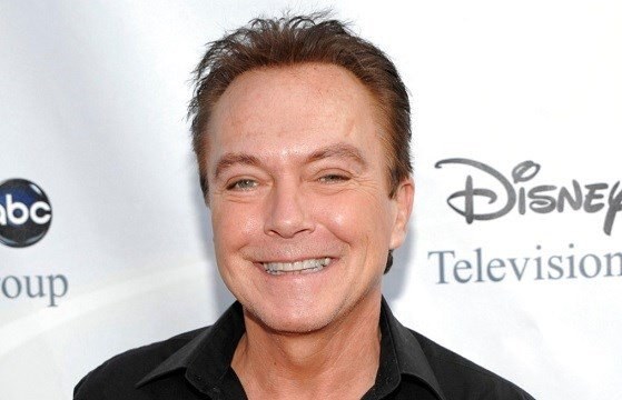 David Cassidy arrives at the ABC Disney Summer press tour party in Pasadena, Calif.