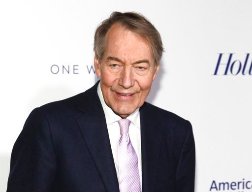 CBS News suspended Charlie Rose and PBS is to halt production and distribution of a show following the sexual harassment report. (Photo by Andy Kropa/Invision/AP, File)