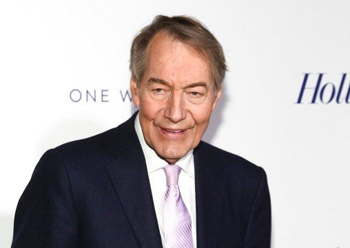 Charlie Rose attends The Hollywood Reporter's 35 Most Powerful People in Media party in New York.