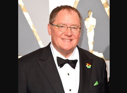 Pixar co-founder and Walt Disney Animation chief John Lasseter arrives at the Oscars in Los Angeles.