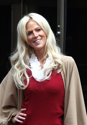 FILE - Michaele Salahi is seen in mid-town of New York City in this Oct. 18, 2010 file photo.