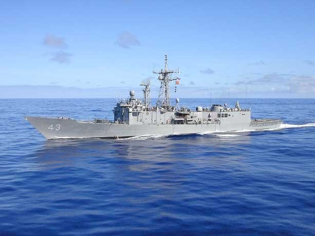 USS Thach (FFG 43). Photo courtesy of U.S. Navy
