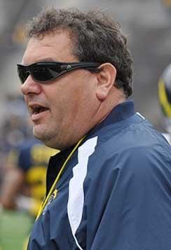 Michigan Wolverines football coach Brady Hoke