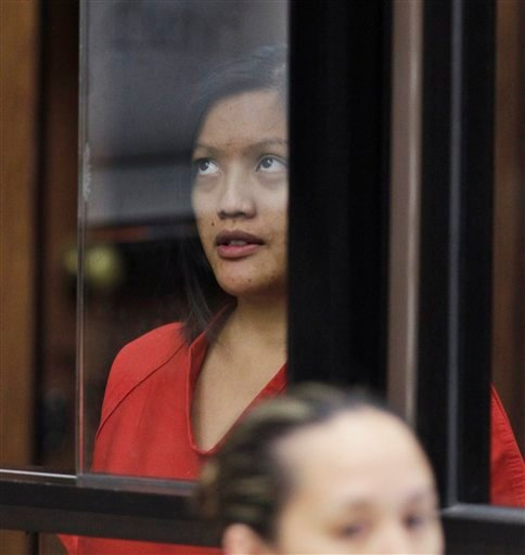 In this Sept. 9, 2011 file photo, Giselle Esteban appears in a Hayward, Calif., courtroom during her arraignment.