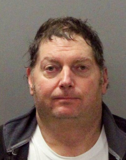his Nov. 26, 2017 photo released by the Santa Clara Police Department shows Tracy Michael Mapes, 55, of Sacramento, Calif.