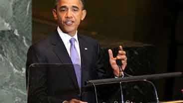 President Barack Obama speaks during the 66th session of the General Assembly at United Nations headquarters, Wednesday, Sept. 21, 2011. (AP Photo/Seth Wenig)