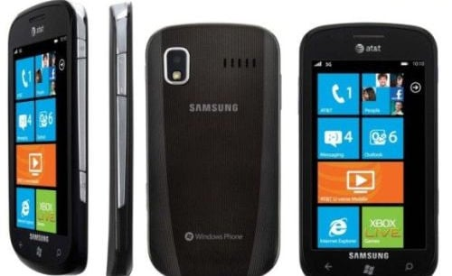 AT&T Samsung Focus Windows Phone
