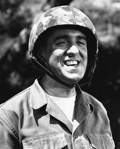 Jim Nabors is seen in character for his role of Gomer Pyle in this 1966 file photo.