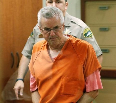Steven Powell, the father-in-law of missing Utah woman Susan Powell, appears in Pierce County courtroom, Friday, Sept. 23, 2011, in Tacoma, Wash. (AP)