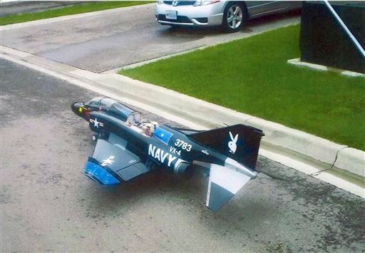 This undated photo released Wednesday, Sept. 28, 2011 by the U.S. Department of Justice shows a large remote controlled aircraft similar to what the department said suspect Rezwan Ferdaus plotted to fill with C-4 plastic explosives.
