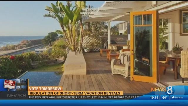 Decision expected on short-term vacation rental regulations