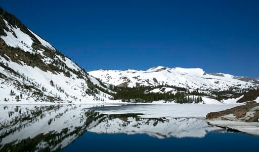 Study: Loss of water in drought caused Sierra Nevada to rise