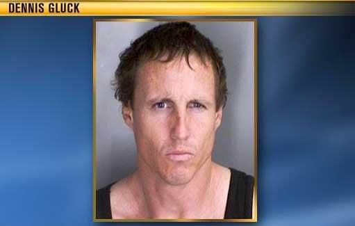 Dennis Gluck, 46, had a history of aggressive behavior toward his parents.
