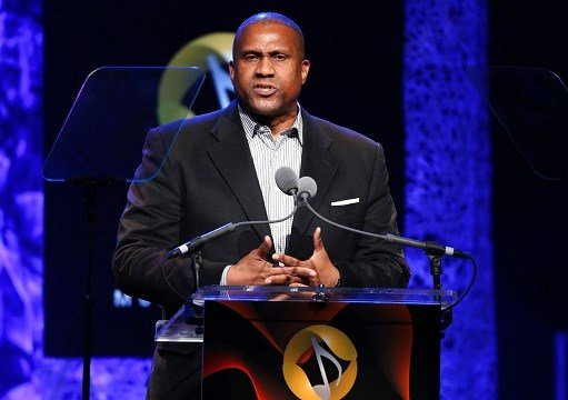 Tavis Smiley appears at the 33rd annual ASCAP Pop Music Awards in Los Angeles.