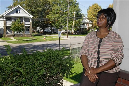 Selena Forte, 55, poses for a photo at her home in Cleveland, Ohio, Saturday, Oct. 8, 2011. (AP)