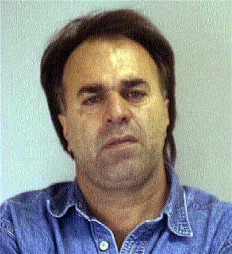 This undated image provided by the Nueces County Sheriff's Office shows Manssor Arbabsiar. (AP Photo/Nueces County Sheriff's Office)