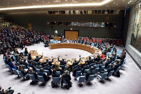Security Council votes on a resolution concerning Jerusalem's status at United Nations headquarters.