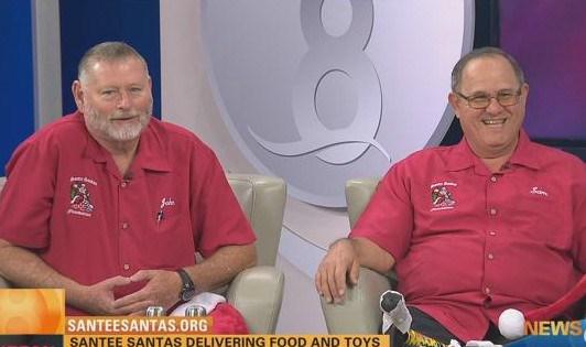 Santee Santas spreading Christmas Spirit throughout their city