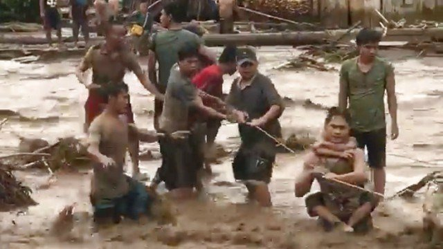 Storm leaves 133 dead in southern Philippines