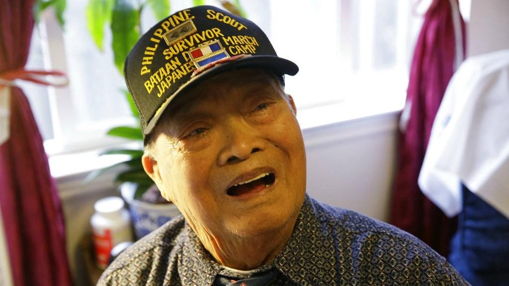 In this Thursday, April 6, 2017 file photo, Bataan Death March survivor Ramon Regalado reminisces at his home in El Cerrito, Calif. (AP Photo/Eric Risberg,File)
