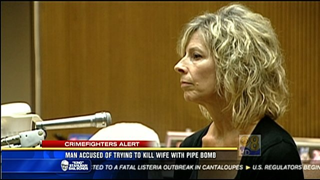 Connie Hoagland testified in Larry Hoagland's preliminary hearing Wednesday.